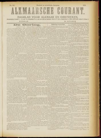 Alkmaarsche Courant 1915-10-26