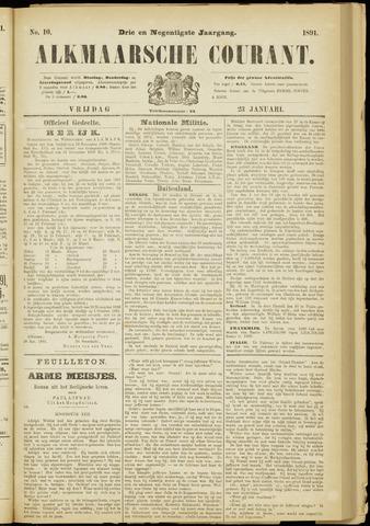 Alkmaarsche Courant 1891-01-23