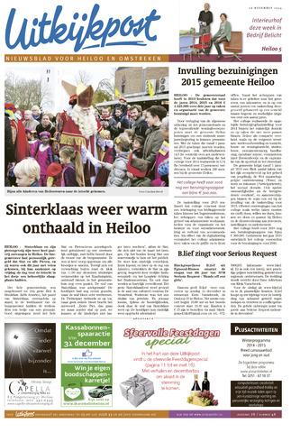 Uitkijkpost : nieuwsblad voor Heiloo e.o. 2014-11-26