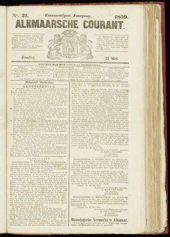 Alkmaarsche Courant 1859-05-22