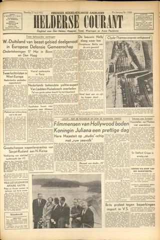 Heldersche Courant 1952-04-21