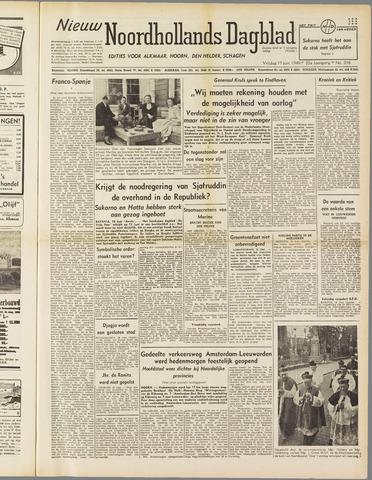 Nieuw Noordhollandsch Dagblad : voor Alkmaar en omgeving 1949-06-17