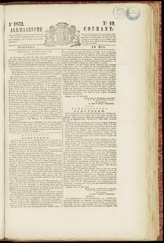 Alkmaarsche Courant 1852-05-10