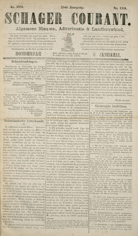 Schager Courant 1881-01-06