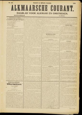 Alkmaarsche Courant 1913-07-03