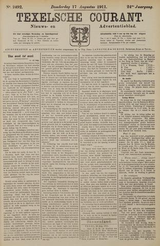 Texelsche Courant 1911-08-17