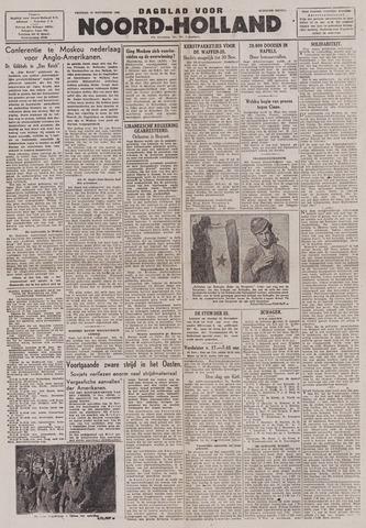 Dagblad Noord-Holland, Schager editie 1943-11-12