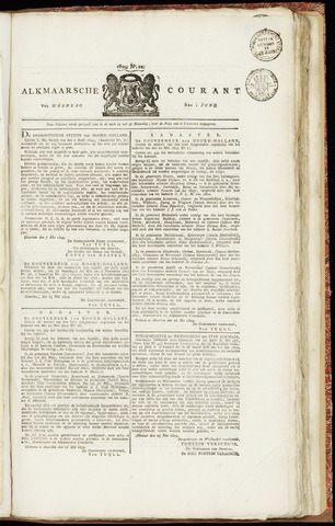 Alkmaarsche Courant 1829-06-01