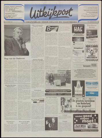 Uitkijkpost : nieuwsblad voor Heiloo e.o. 2001-10-10