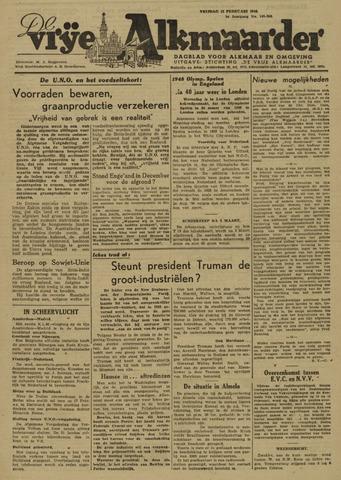 De Vrije Alkmaarder 1946-02-15