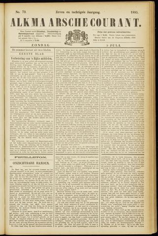 Alkmaarsche Courant 1885-07-05