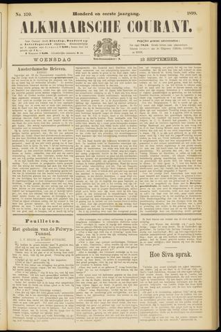 Alkmaarsche Courant 1899-09-13