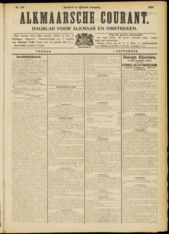 Alkmaarsche Courant 1913-09-05