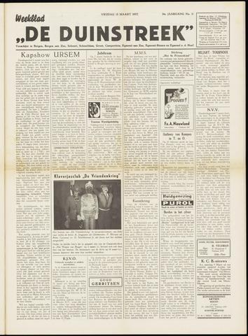 De Duinstreek 1957-03-15