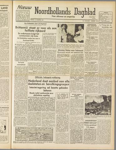 Nieuw Noordhollandsch Dagblad : voor Alkmaar en omgeving 1947-08-12