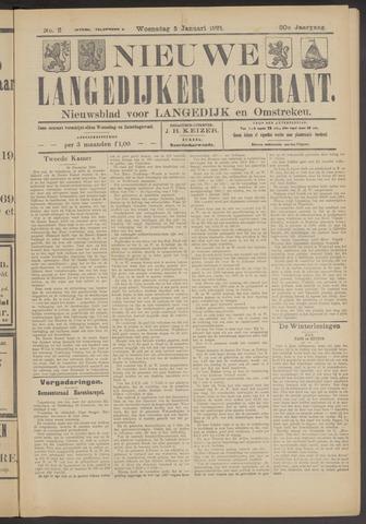 Nieuwe Langedijker Courant 1921-01-05