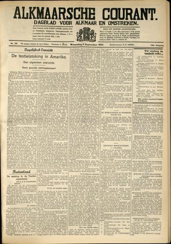 Alkmaarsche Courant 1934-09-05