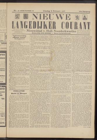 Nieuwe Langedijker Courant 1927-02-08