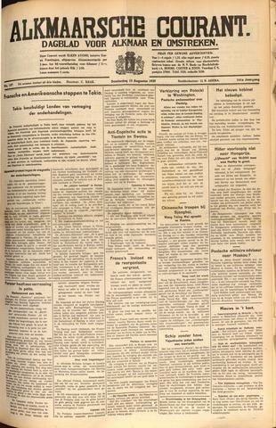 Alkmaarsche Courant 1939-08-10