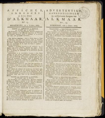 Alkmaarsche Courant 1813-04-07