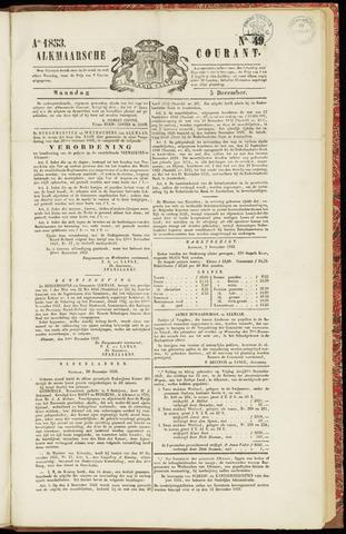 Alkmaarsche Courant 1853-12-05