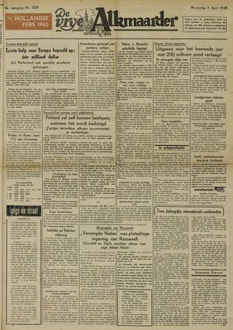 De Vrije Alkmaarder 1948-04-07