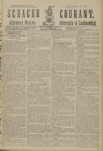 Schager Courant 1911-11-25