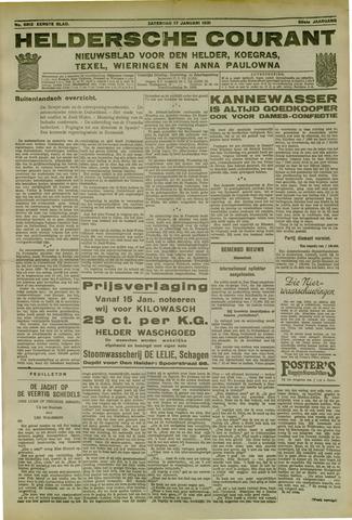 Heldersche Courant 1931-01-17
