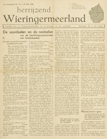 Herrijzend Wieringermeerland 1945-07-27