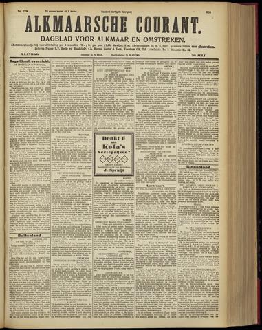 Alkmaarsche Courant 1928-07-30