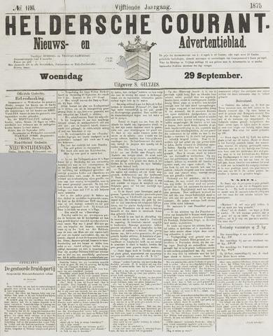 Heldersche Courant 1875-09-29