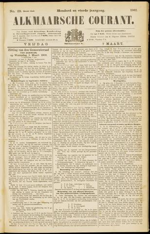 Alkmaarsche Courant 1902-03-07