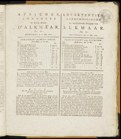Alkmaarsche Courant 1812-05-20