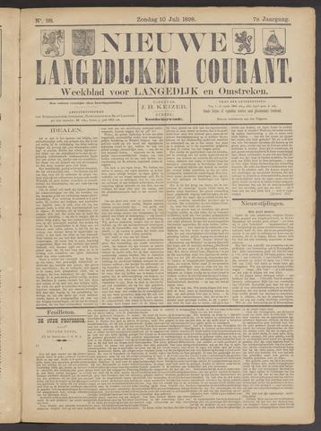 Nieuwe Langedijker Courant 1898-07-10