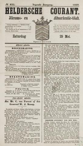 Heldersche Courant 1869-05-29