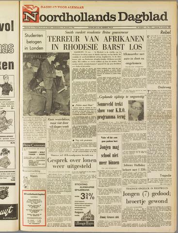 Noordhollands Dagblad : dagblad voor Alkmaar en omgeving 1965-11-13