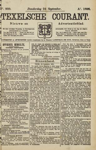 Texelsche Courant 1896-09-24