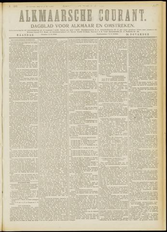 Alkmaarsche Courant 1919-11-24