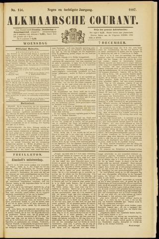 Alkmaarsche Courant 1887-12-07