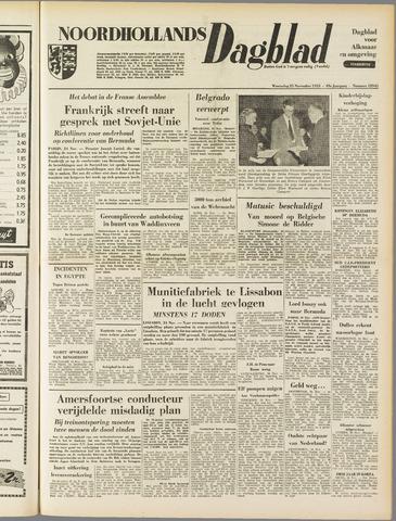 Noordhollands Dagblad : dagblad voor Alkmaar en omgeving 1953-11-25