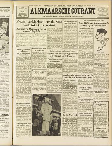 Alkmaarsche Courant 1955-03-07