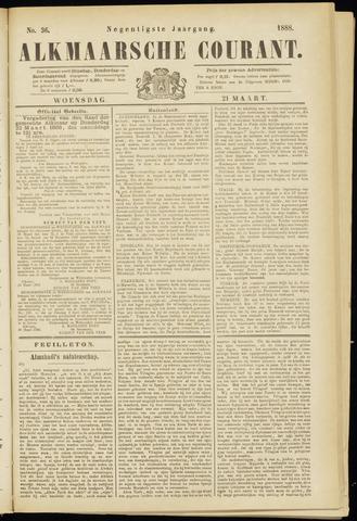Alkmaarsche Courant 1888-03-21
