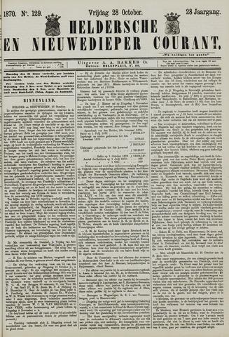 Heldersche en Nieuwedieper Courant 1870-10-28
