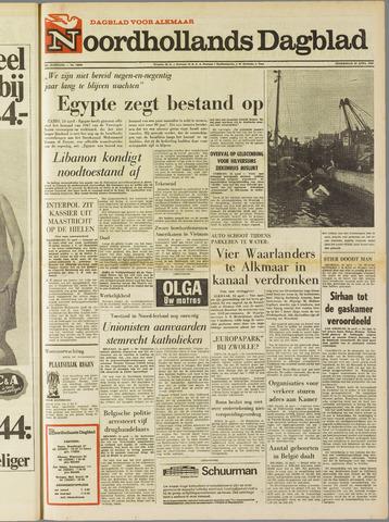 Noordhollands Dagblad : dagblad voor Alkmaar en omgeving 1969-04-24