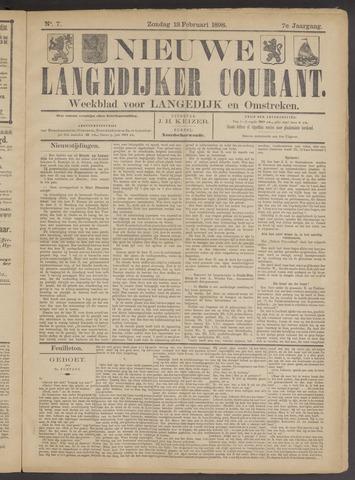 Nieuwe Langedijker Courant 1898-02-13