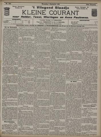 Vliegend blaadje : nieuws- en advertentiebode voor Den Helder 1909-09-08