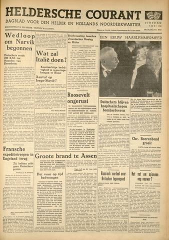 Heldersche Courant 1940-05-07