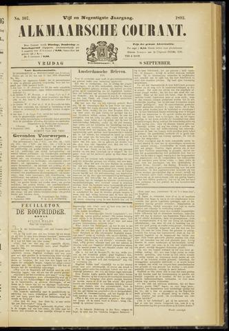 Alkmaarsche Courant 1893-09-08
