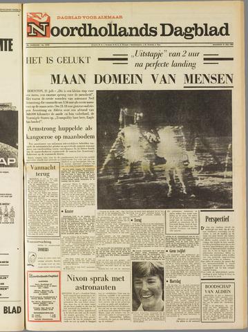 Noordhollands Dagblad : dagblad voor Alkmaar en omgeving 1969-07-21