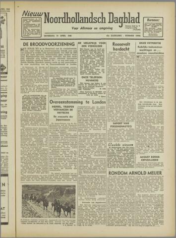Nieuw Noordhollandsch Dagblad : voor Alkmaar en omgeving 1946-04-13